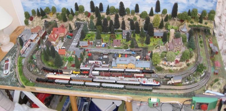 German N Scale Layout - Model Train Help BlogModel Train Help Blog