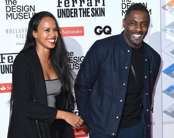 Idris Elba and his gorgeous girlfriend Sabrina Dhowre attend London exhibition together (Photos)