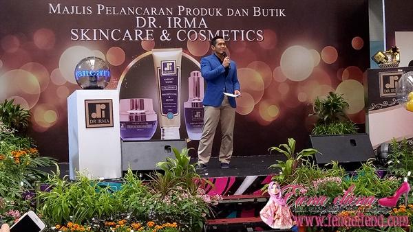 Majlis Pelancaran Produk dan Butik Dr. Irma Skincare & Cosmetics