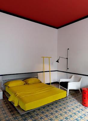 Quarto inspiração Mondrian