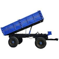 4 wheeler hydrolic trolley