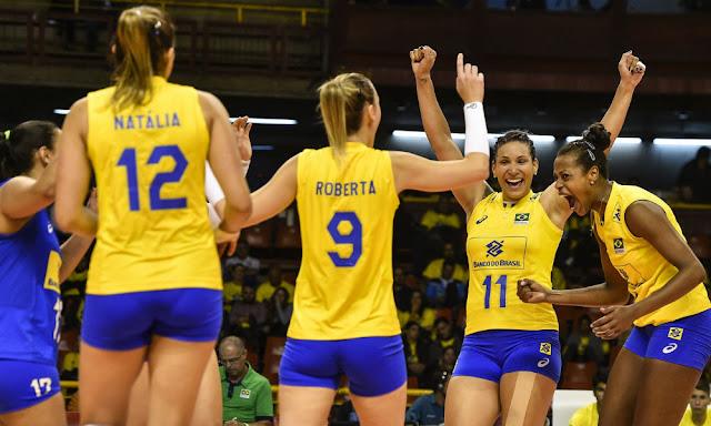 Horário do jogo de Vôlei Feminino  Brasil x Polônia 30/05/2018
