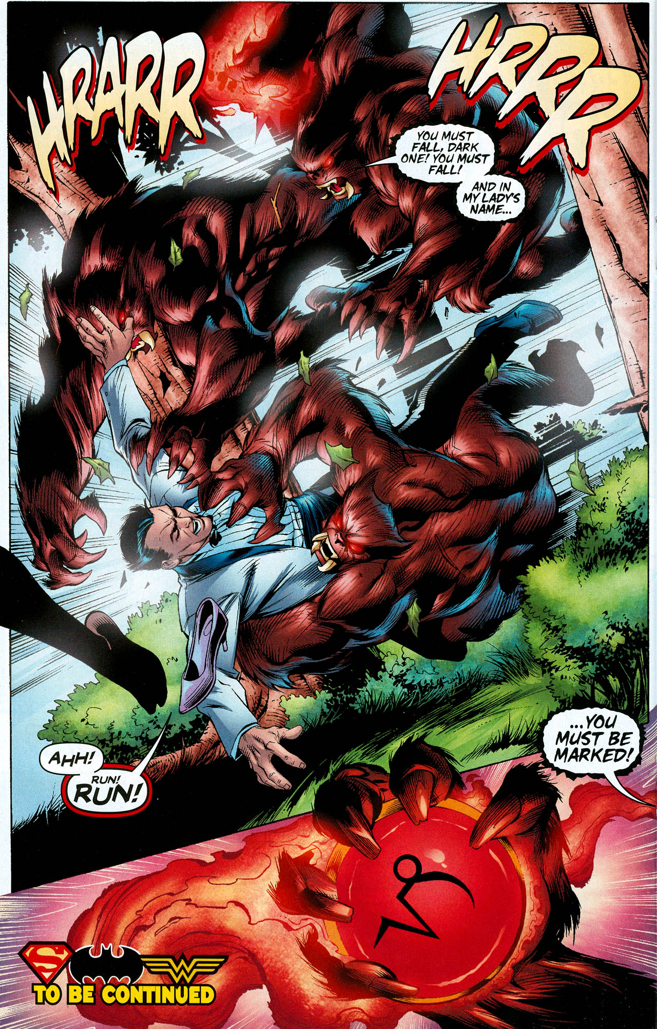 Read online Trinity (2008) comic -  Issue #8 - 17
