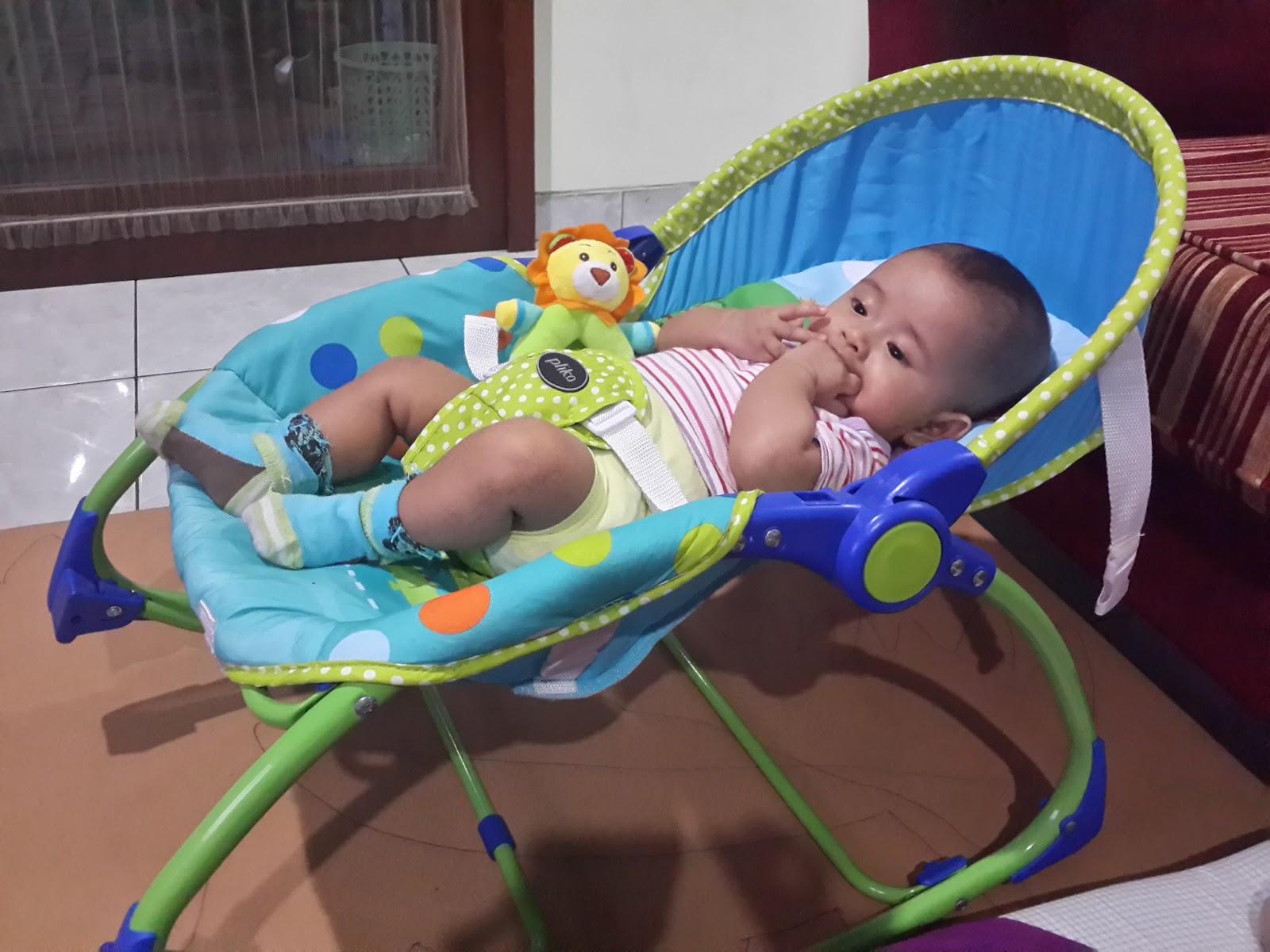 Baby Bouncer Pliko Hammock Tempat Duduk Bayi Favoritnya