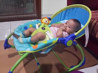 Contoh Pemasangan Bouncer Bayi Pliko Hammock