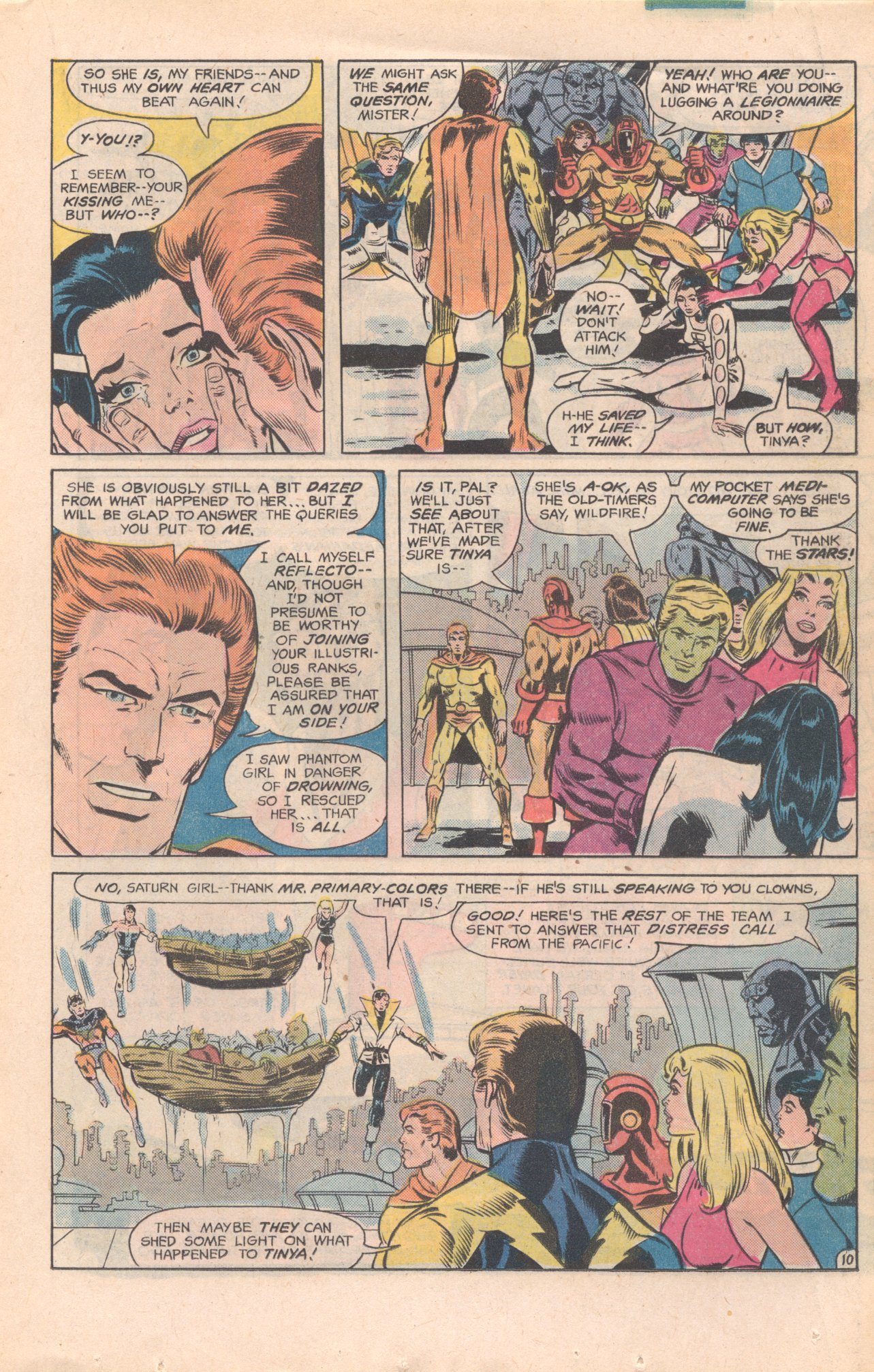 Legion of Super-Heroes (1980) 277 Page 10