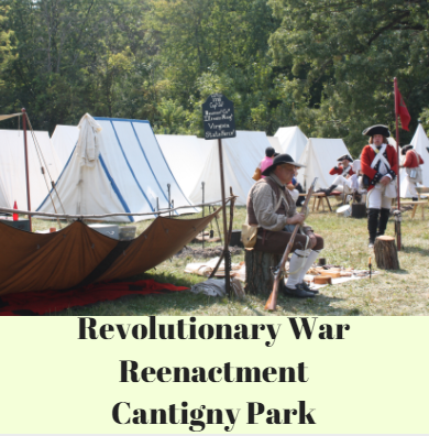 Revolutionary War Reenactment Cantigny Park, Wheaton, Illinois