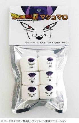 Marshmallows Frieza faz sucesso no Japão