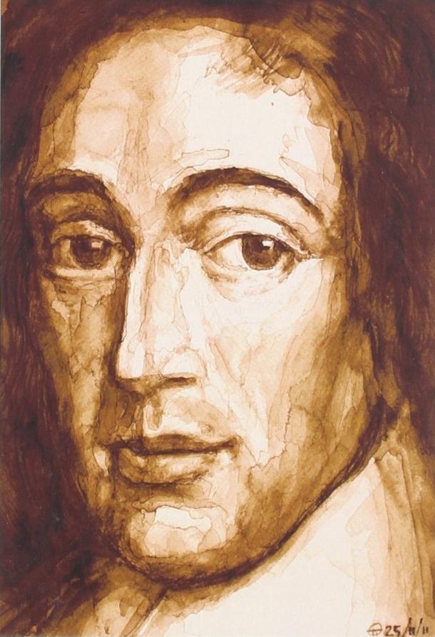 Spinoza van Italiaanse grafisch ontwerper Mara Sanfelici