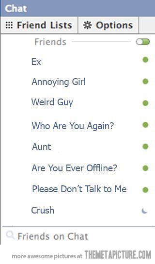 my facebook chat