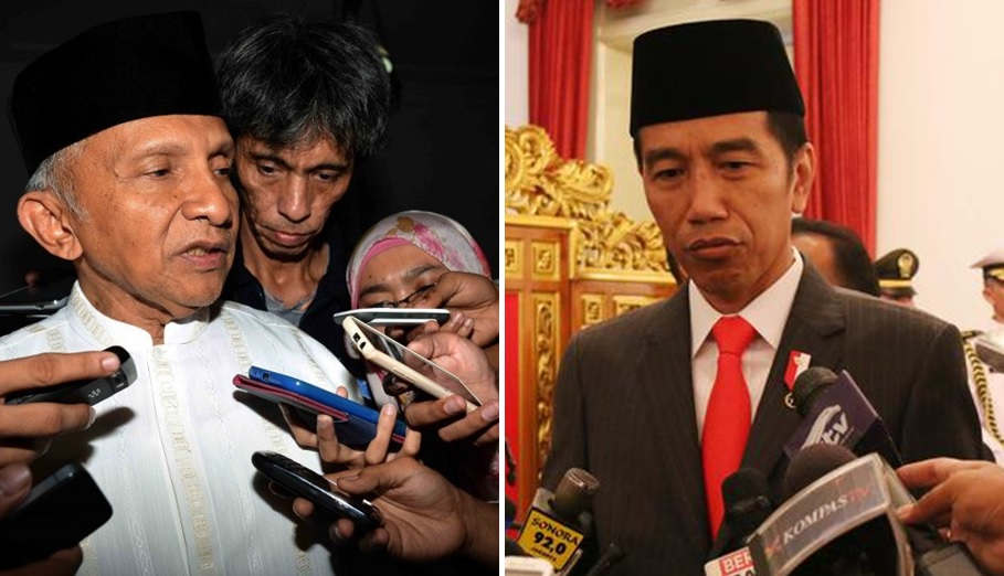 Amien Rais - Jokowi
