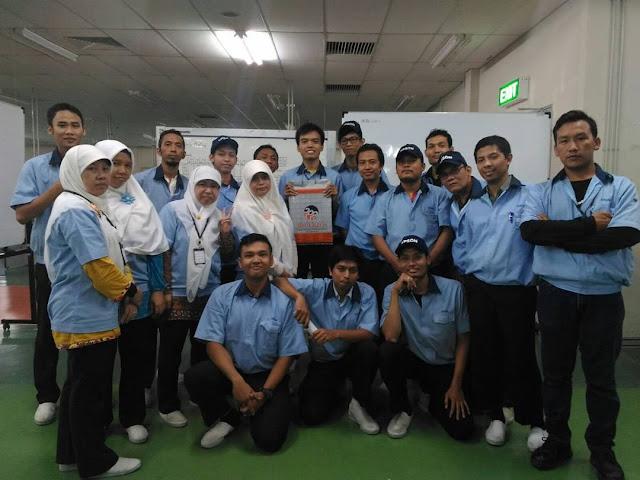 Operator Produksi Kawasan EJIP PT. Indonesia Epson Industry 2018