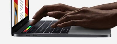 -  شريط MacBook Pro Touch