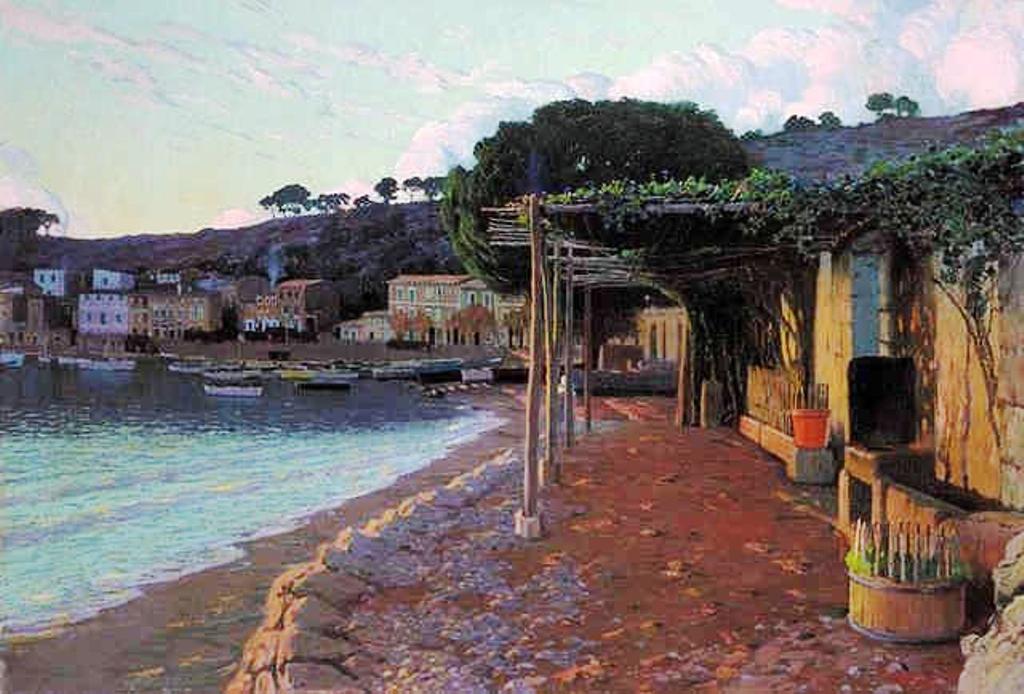 Mallorca en Pintura Santiago Rusiol i Prats 1861  1931