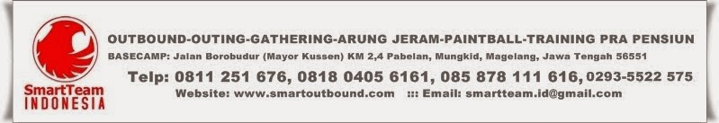 Outbound Training Paintball Arung Jeram Gathering Jogja Magelang