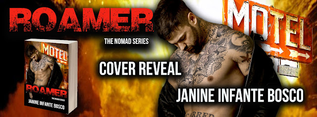 Roamer by Janine Infante Bosco Cover Reveal + Giveaway
