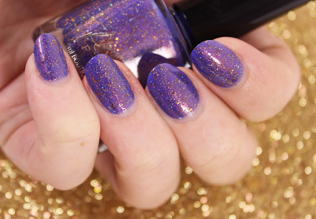 Femme Fatale + The Polishing Life - End of the Storm Nail Polish Swatches & Review