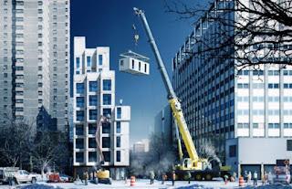 architettura contemporanea appartamenti prefabbricati