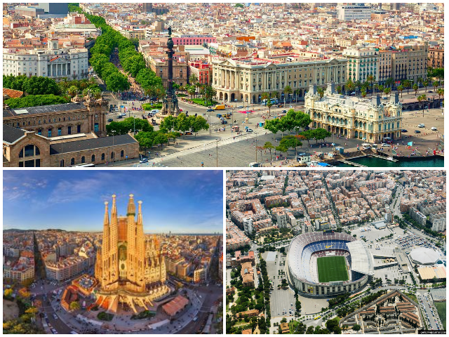 Барселона стадіон Камп Ноу