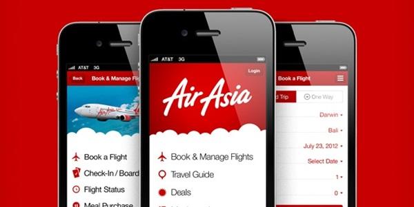 Aplikasi Booking Pesan Tiket Pesawat Murah Terpercaya air asia