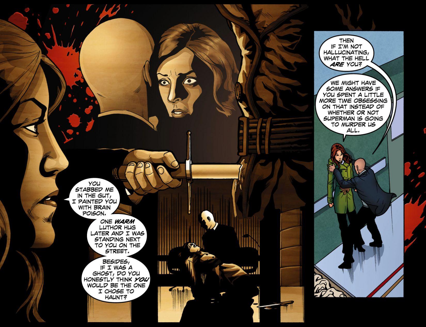 Read online Smallville: Season 11 comic -  Issue #4 - 7