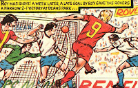 Roy Race nets the winner past Deans Park's goalie (1980/81)