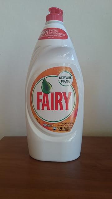 Płyn do mycia naczyń Fairy - Recenzja