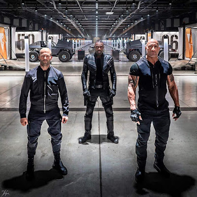 Hobbs And Shaw Jason Statham Dwayne Johnson Idris Elba Image 2