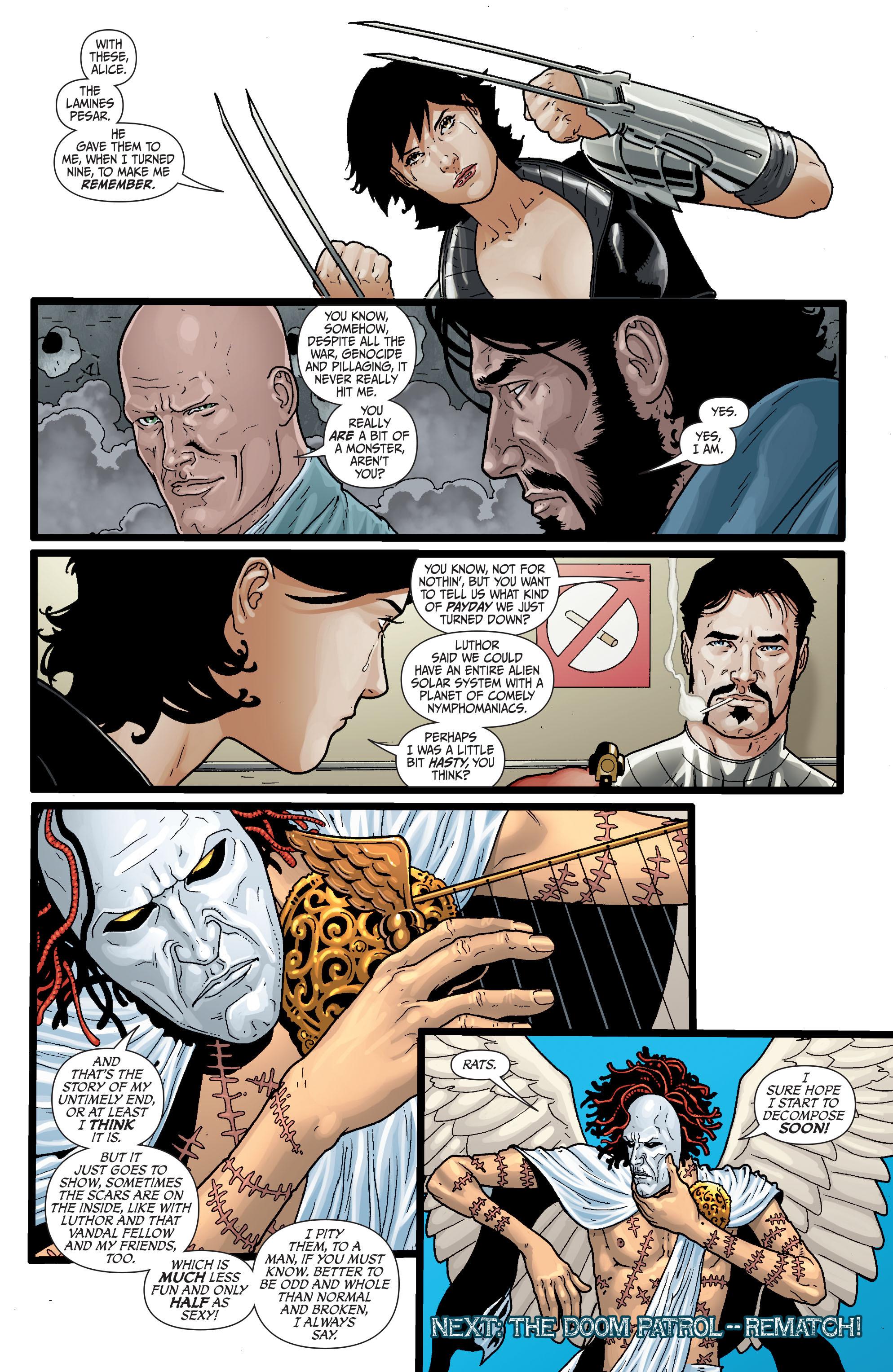 Read online Secret Six (2008) comic -  Issue #29 - 21