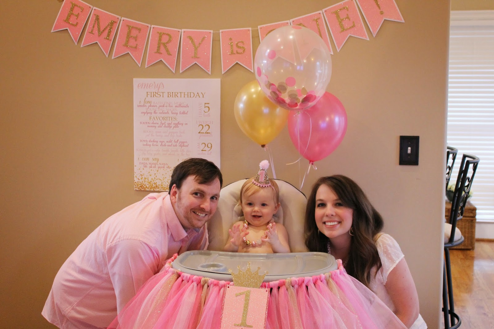 Richly Blessed: Emery\'s 1st Birthday Party!