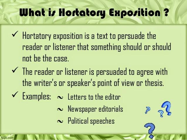 Penjelasan Hortatory Exposition Text Bahasa Inggris Beserta Contoh