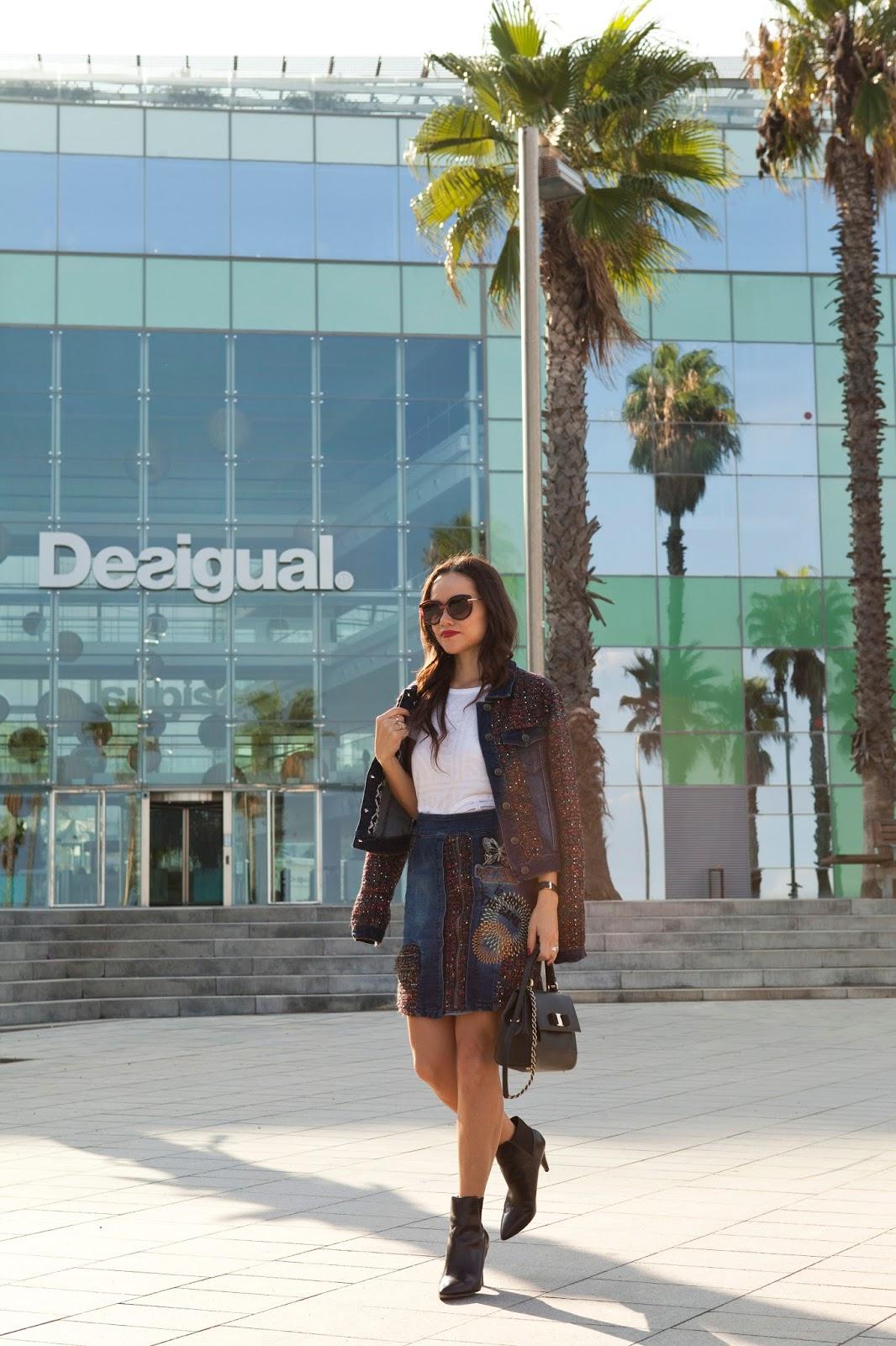 En barcelona con desigual moda capital for Desigual oficinas barcelona