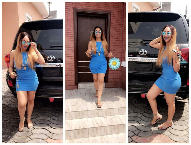 Tonto Dikeh who? Rosaline Meurer shows off her banging shape