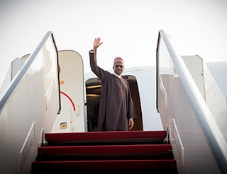 Buhari Jets Out To London For INDEFINITE Medica Leave
