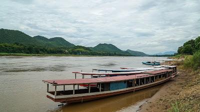The Mekong 'beach'