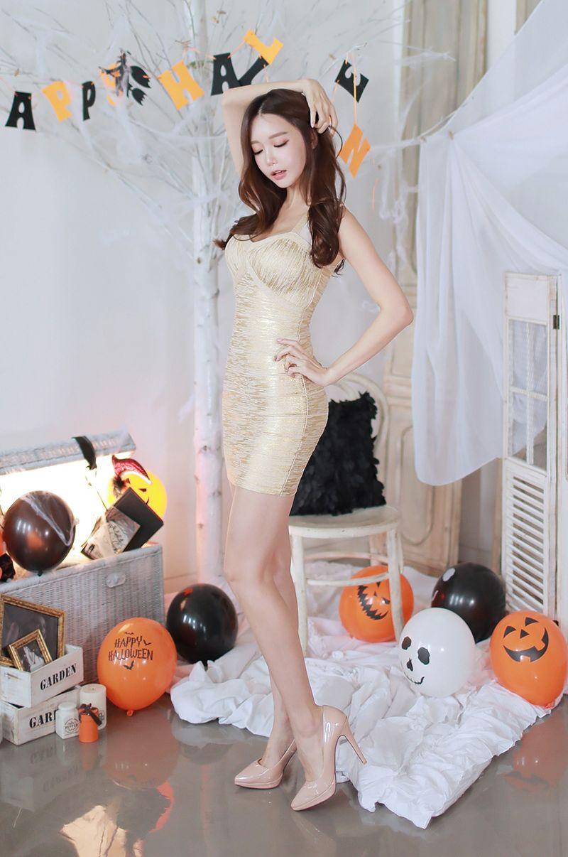 Korean Model Yoon Ae Ji - Sexy Halloween