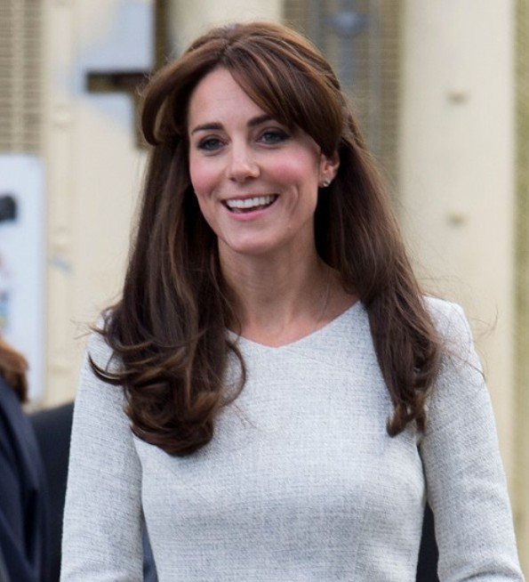 Catherine, Duchess Of Cambridge Visited A Rehabilitation Centre