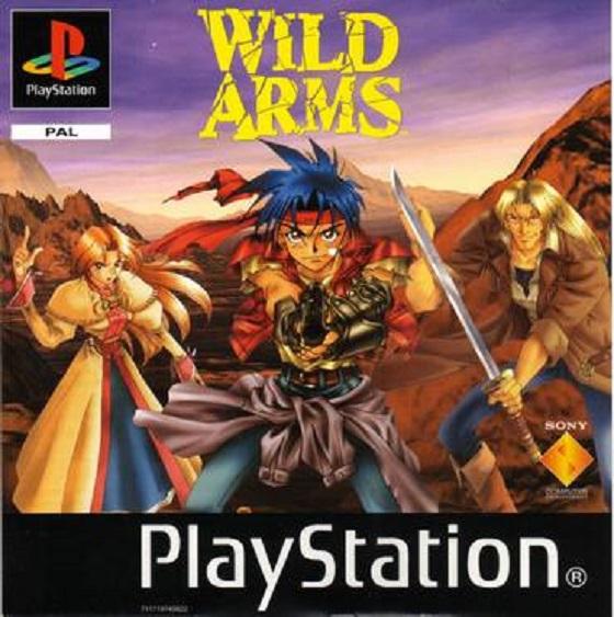 Wild Arms - PSX - Portada