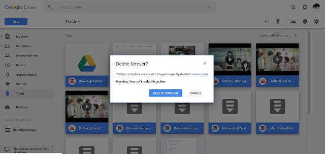 Cara Membuat Storage Gmail yang Penuh Kembali Kosong