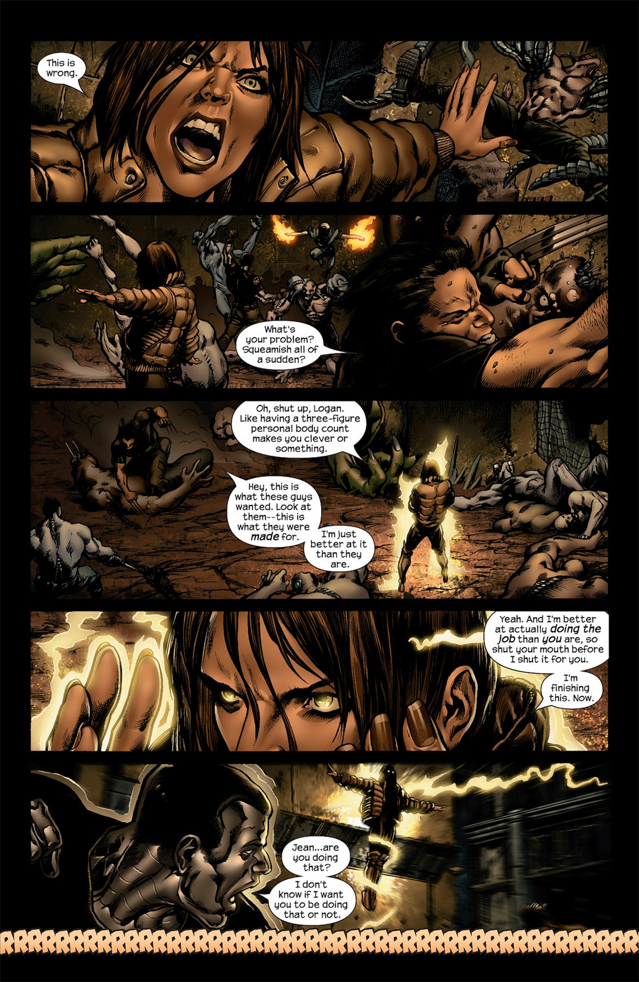 Read online Ultimate Nightmare comic -  Issue #4 - 12