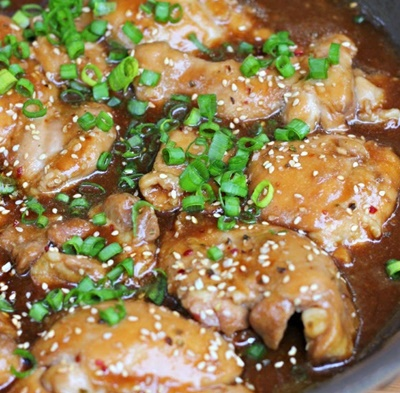 Easy Shoyu Chicken