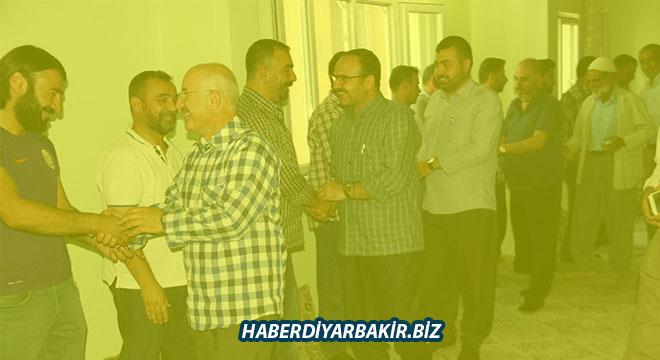 HÜDA PAR Diyarbakır Ergani'de üye ve gönüllüleriyle bayramlaştı