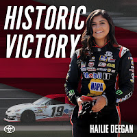 Hailie Deegan - First Female Driver To Score Series Victory