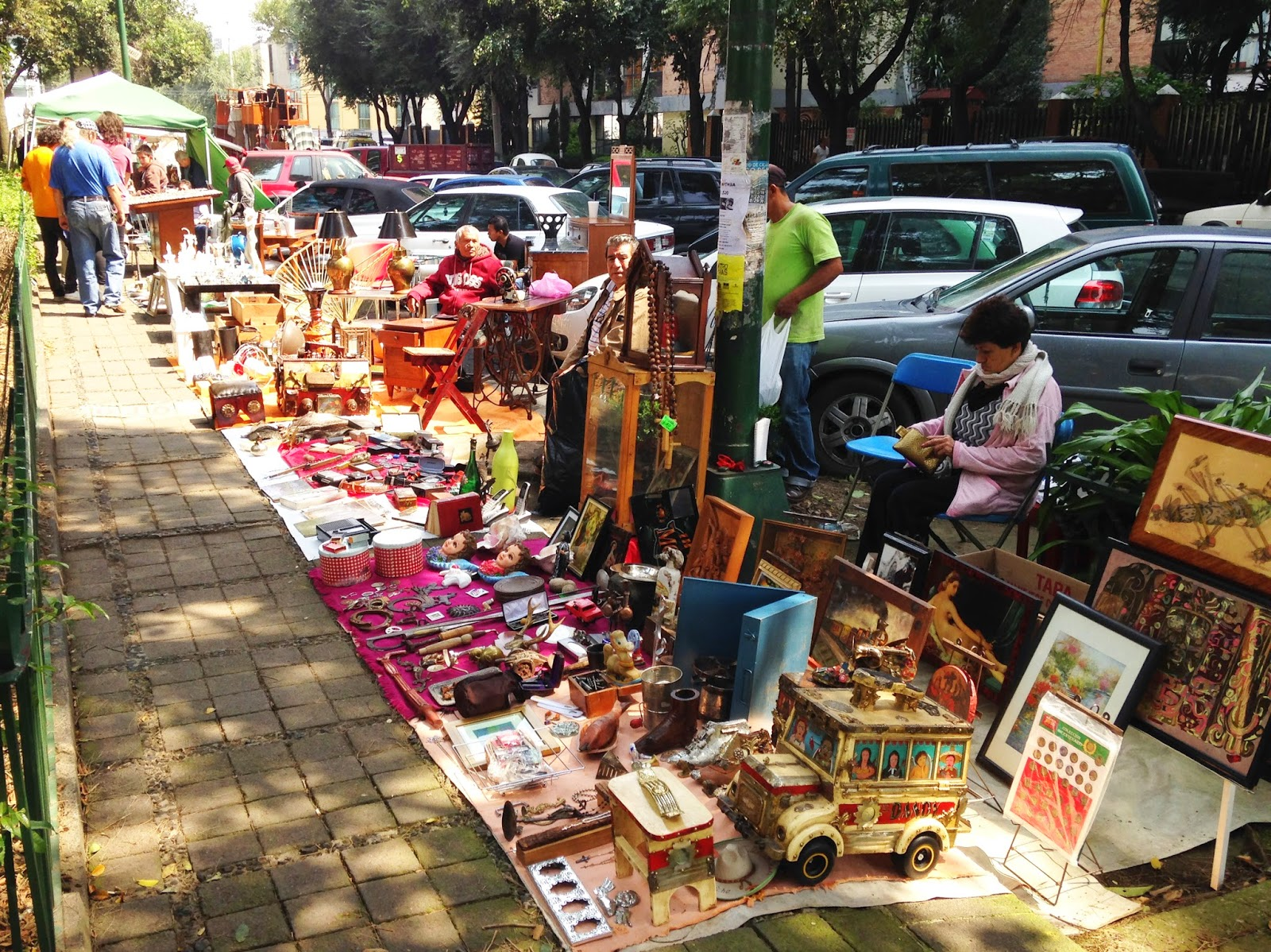 Mexico City An Opinionated Guide Mexico City S Flea Markets