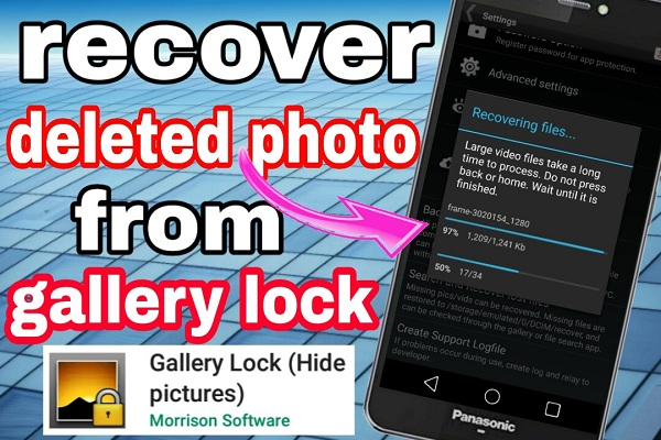 How to recover deleted photos from gallery lock - KD Tech Tips