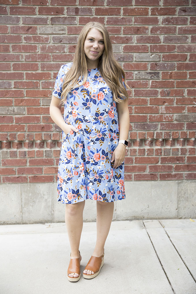 Ammon Lane: Grainline Studio Farrow Dress: Fitting