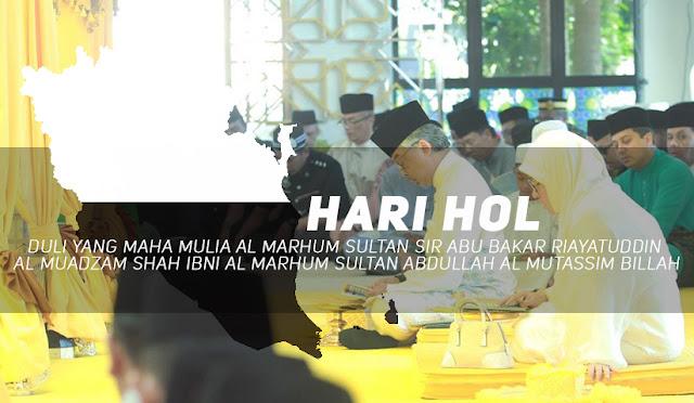 Hari Hol Di Sambut Setiap Tahun Bagi Negeri Pahang