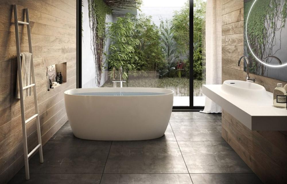 Vasca da bagno freestanding classica o moderna blog di - Vasca da bagno in pietra ...