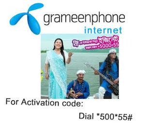 Grameenphone easynet internet package full free for GP User