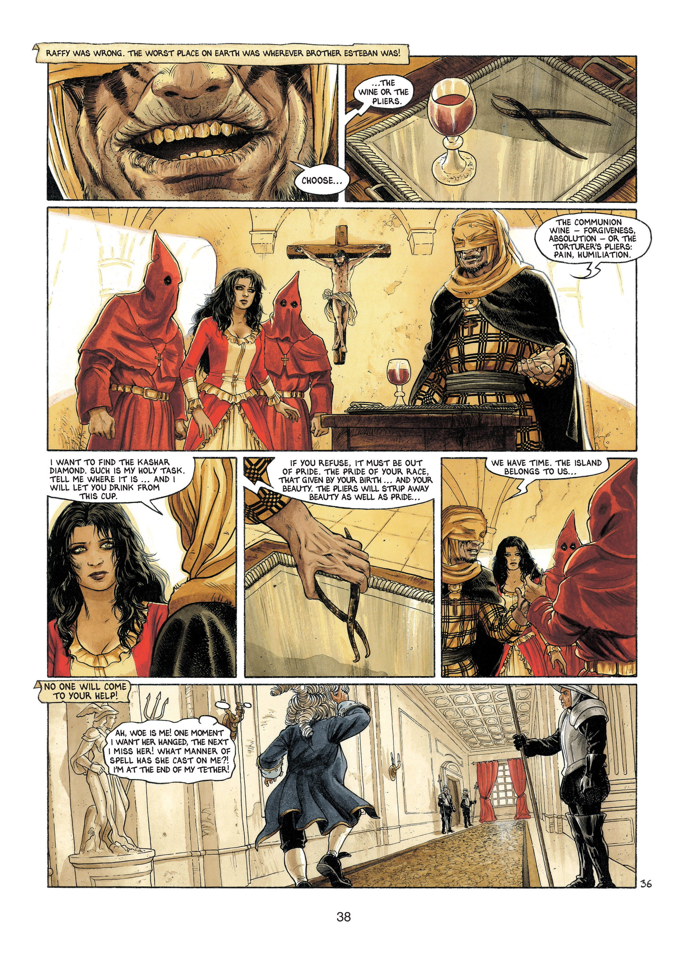 Read online Barracuda comic -  Issue #4 - 39